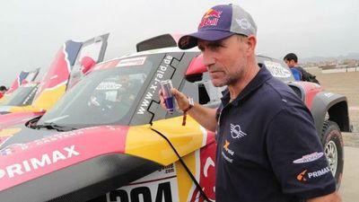 Peterhansel, 'monsieur Dakar', no correrá con su mujer de copiloto