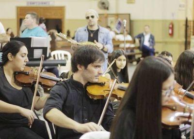 Relanzamiento de la Orquesta Sinfónica de Caacupé