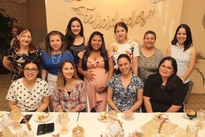 El baby shower de Viviana Orrego