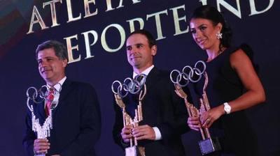 Atletas integrantes de la Elite Deportiva se destacan en la Gala Olímpica