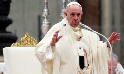 """El Papa Francisco pidió paz al momento de """"agitación social y política"""""""