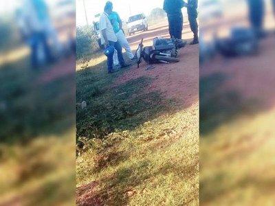 Un hombre fallece tras perder el control de su motocicleta