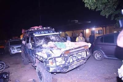 Conductor ebrio derrumbó casa de su vecino tras pelea •