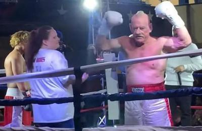 La desgarradora historia del boxeador de 70 años que regresó al ring tras casi cuatro décadas