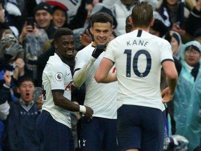 Kane y Dele Alli remontan para el Tottenham ante el Brighton