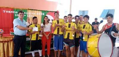 Fiesta de fútbol llenó de alegría Unidad Penitenciaria Industrial Esperanza
