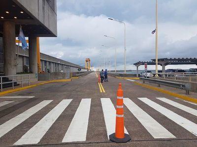Ante habilitación de línea paraguaya, cerrarán paso fronterizo sobre Yacyretá