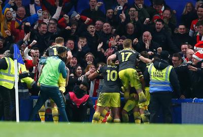 Southampton sorprende al Chelsea en el Boxing Day