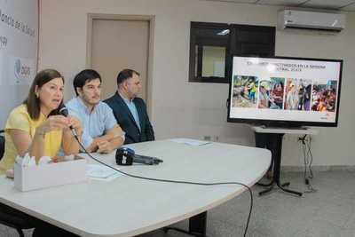 El 92% de los casos confirmados de dengue se concentran en Asunción y el área metropolitana