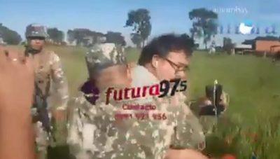 Militar agrede a comunicadores en Amambay