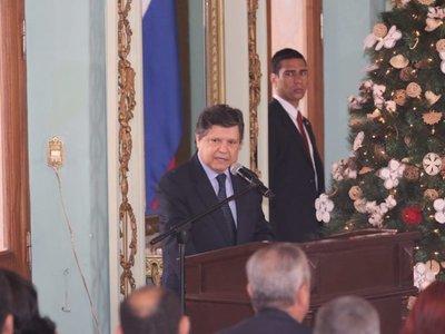 Euclides Acevedo resalta logros en lucha contra crimen organizado