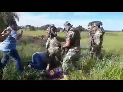 Militar agredió a un periodista de Telefuturo en Pedro Juan Caballero