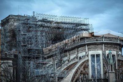 Al rescate de Notre Dame de París, ocho meses después del incendio