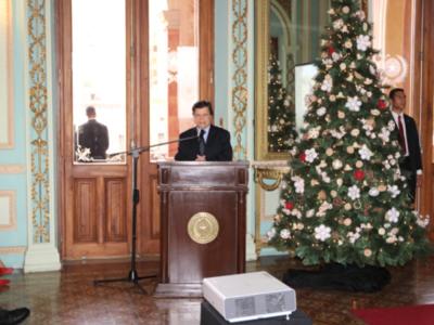 Ministro del Interior destaca la lucha sin cuartel contra el crimen organizado