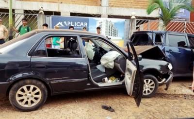 Adolescentes brasileños roban auto y provocan accidente