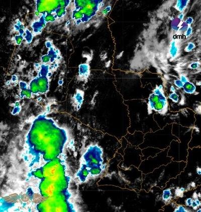 Alertan de tormentas para esta tarde en zona norte de ambas regiones del país