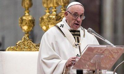 Papa Francisco pidió que se restablezca el diálogo familiar