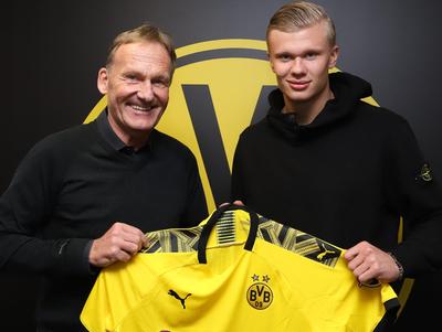 Borussia Dortmund amarra a la promesa noruega