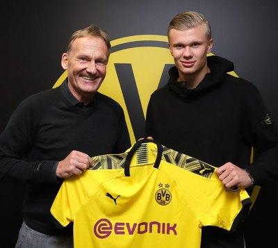 El Dortmund se refuerza con el prodigio noruego Haaland