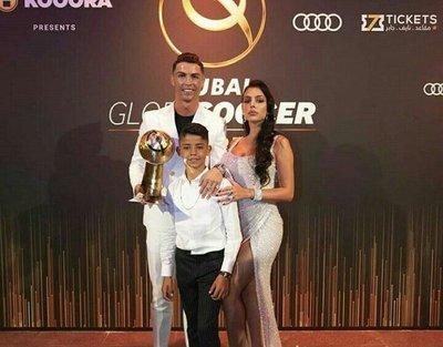 Cristiano se queda con el Globe Soccer 2019