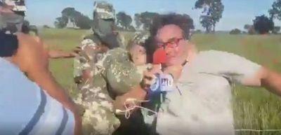 Comandante Espinoza denunció a comunicadores locales