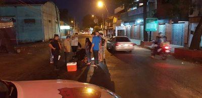 Accidente fatal en Mcal. Estigarribia y Hernandarias