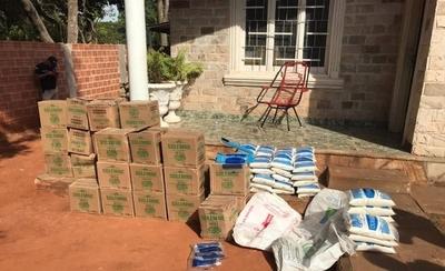 HOY / Allanan comercio de Areguá y decomisan productos de contrabando