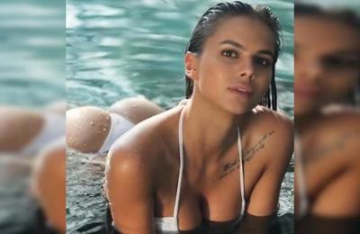 Viktoria Odintcova, la modelo rusa amiga de Neymar: 'Cristiano Ronaldo me escribió y lo ignoré'