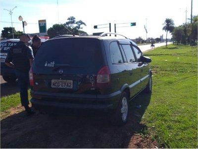 Hallan 2 vehículos en zona fronteriza tras un supuesto secuestro