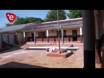 AVANZAN OBRAS EN ESC. DOLORES ACUÑA DE ENCARNACIÓN