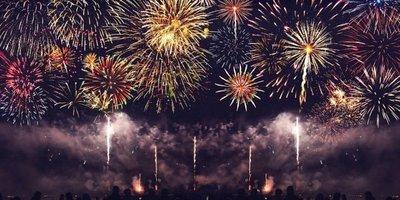 Algunos países del mundo ya celebraron la llegada del nuevo año, con impresionantes shows de fuegos artificiales
