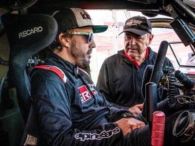 El primer campeón de la Fórmula 1 en el rally Dakar