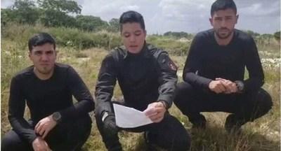 Gobierno brasileño le concedió asilo a los cinco militares venezolanos sublevados
