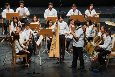 Orquesta de Cateura en gira por ocho países europeos