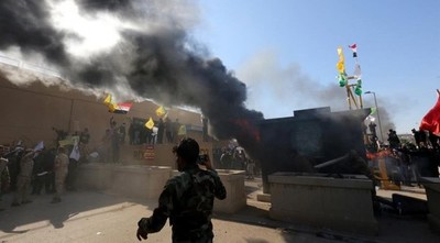 La Embajada de EE. UU. en Bagdad suspende sus actividad hasta nuevo aviso