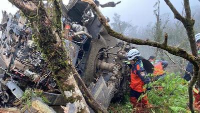 Muere tras un accidente de helicóptero el jefe del Estado Mayor taiwanés