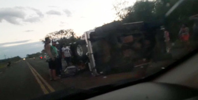 Concepción: Mujer muere en acidente de tránsito