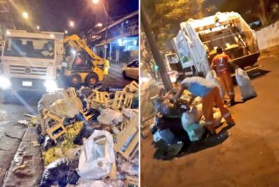 Recolectan toneladas de basura, tras operativo Año Nuevo