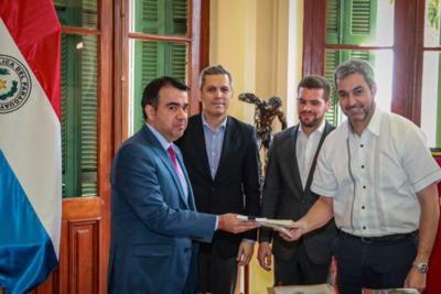 Mario Abdo promulga el PGN2020