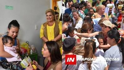 CAMPAÑA REGALO DE AMOR SE TRASLADÓ AL HRE Y AL B° SAN PEDRO DE ENCARNACIÓN
