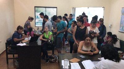 Registros electorales fueron colmados por la ciudadanía