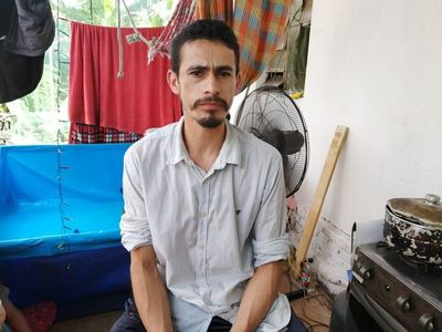 Cayó 'Tripa Seca', microtraficante de cocaína en Capiatá