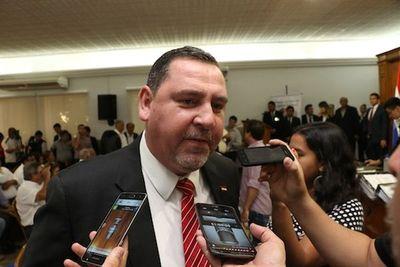 Desafuero de Zacarías Irún se tratará en la próxima sesión ordinaria