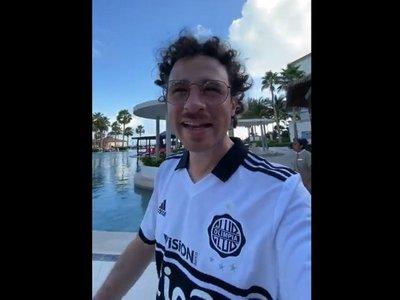 El youtuber Luisito Comunica no conocía al Club Olimpia