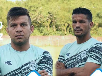 Candia y Báez son presentados como refuerzos de Guaireña