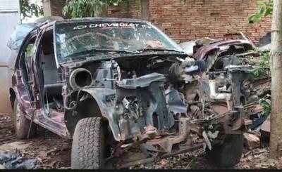 Camionetas robadas fueron recuperadas en taller