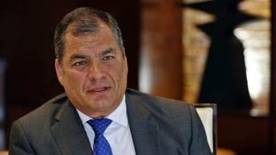 La justicia ecuatoriana llama a juicio al ex presidente Correa en un caso de sobornos