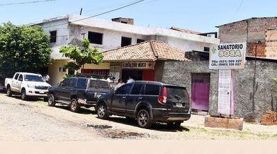 Sanatorio intervenido operó por más de una década sin permiso