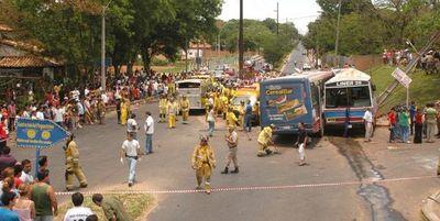 Indemnizarán a víctimas de accidente de tránsito en Lambaré