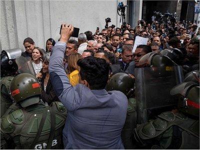 """Paraguay deplora la """"represión"""" contra legisladores venezolanos"""